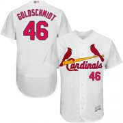 Wholesale Cheap Cardinals #46 Paul Goldschmidt White Flexbase Authentic Collection Stitched MLB Jersey