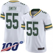 Wholesale Cheap Nike Packers #55 Za'Darius Smith White Men's Stitched NFL 100th Season Vapor Limited Jersey