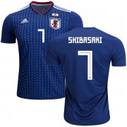Wholesale Cheap Japan #7 Shibasaki Home Soccer Country Jersey