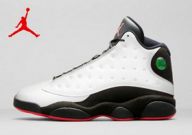Wholesale Cheap WMNS Air Jordan 13 Shoes 3M White/black-red jump man