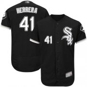 Wholesale Cheap White Sox #41 Kelvin Herrera Black Flexbase Authentic Collection Stitched MLB Jersey