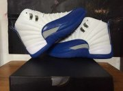 Wholesale Cheap Air Jordan 12 French Blue White/blue