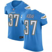 Wholesale Cheap Nike Chargers #37 Jahleel Addae Electric Blue Alternate Men's Stitched NFL Vapor Untouchable Elite Jersey