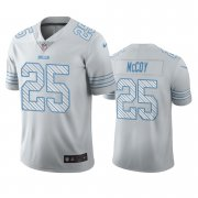 Wholesale Cheap Buffalo Bills #25 LeSean McCoy White Vapor Limited City Edition NFL Jersey