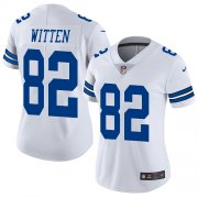 Wholesale Cheap Nike Cowboys #82 Jason Witten White Women's Stitched NFL Vapor Untouchable Limited Jersey
