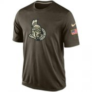 Wholesale Cheap Men's Ottawa Senators Salute To Service Nike Dri-FIT T-Shirt