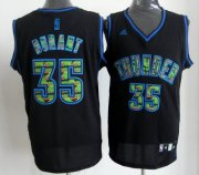 Wholesale Cheap Oklahoma City Thunder #35 Kevin Durant Black Camo Fashion Jersey