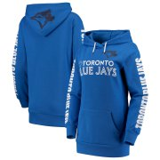 Wholesale Cheap Toronto Blue Jays G-III 4Her by Carl Banks Women's Extra Innings Pullover Hoodie Royal