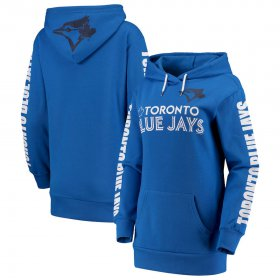 Wholesale Cheap Toronto Blue Jays G-III 4Her by Carl Banks Women\'s Extra Innings Pullover Hoodie Royal