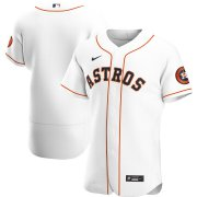 Wholesale Cheap Houston Astros Men's Nike White Home 2020 Authentic Official Team MLB Jersey