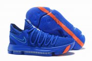 Wholesale Cheap Nike KD 10 Shoes China Blue