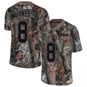 Wholesale Cheap Nike Giants #8 Daniel Jones Camo Men's Stitched NFL Limited Rush Realtree Jersey