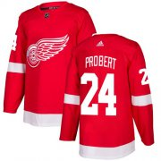 Wholesale Cheap Adidas Red Wings #24 Bob Probert Red Home Authentic Stitched NHL Jersey