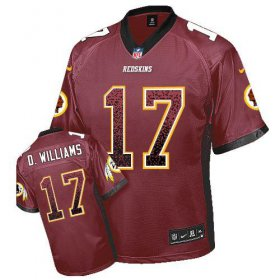 Wholesale Cheap Nike Redskins #17 Doug Williams Burgundy Red Team Color Men\'s Stitched NFL Elite Drift Fashion Jersey