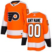 Wholesale Cheap Men's Adidas Flyers Personalized Authentic Orange Home NHL Jersey