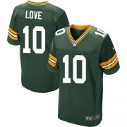 Wholesale Cheap Nike Packers #10 Jordan Love Green Team Color Men's Stitched NFL Vapor Untouchable Elite Jersey