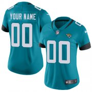 Wholesale Cheap Nike Jacksonville Jaguars Customized Teal Green Team Color Stitched Vapor Untouchable Limited Women's NFL Jersey