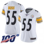 Wholesale Nike Steelers #81 Jesse James Green Women's Stitched NFL Limited 2015 Salute to Service Jersey