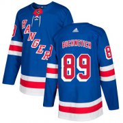 Wholesale Cheap Adidas Rangers #89 Pavel Buchnevich Royal Blue Home Authentic Stitched Youth NHL Jersey