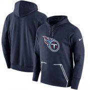 Wholesale Cheap Men's Tennessee Titans Nike Navy Champ Drive Vapor Speed Pullover Hoodie