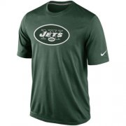 Wholesale Cheap New York Jets Nike Legend Logo Essential 2 Performance T-Shirt Green