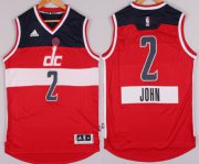 Wholesale Cheap Washington Wizards #2 John Wall Revolution 30 Swingman 2014 Christmas Day Red Jersey