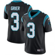 Wholesale Cheap Nike Panthers #3 Will Grier Black Team Color Youth Stitched NFL Vapor Untouchable Limited Jersey