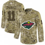 Wholesale Cheap Adidas Wild #11 Zach Parise Camo Authentic Stitched NHL Jersey