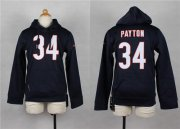 Wholesale Cheap Nike Bears #34 Walter Payton Navy Blue Youth Pullover NFL Hoodie