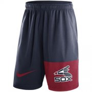 Wholesale Cheap Men's Chicago White Sox Nike Navy Cooperstown Collection Dry Fly Shorts