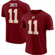 Wholesale Cheap Washington Redskins #11 Alex Smith Nike Player Pride Name & Number Performance T-Shirt Burgundy