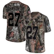 Wholesale Cheap Nike Texans #27 Duke Johnson Jr Camo Youth Stitched NFL Limited Rush Realtree Jersey