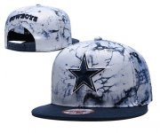 Wholesale Cheap Cowboys Team Logo Smoke Navy Adjustable Hat TX