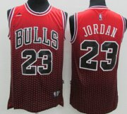 Wholesale Cheap Chicago Bulls #23 Michael Jordan Red/Black Resonate Fashion Jersey