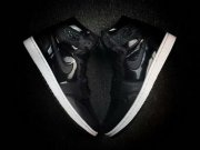 Wholesale Cheap Air Jordan 1 Retro Shoes Jet Black/Matte Black-White