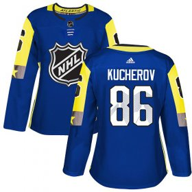 Wholesale Cheap Adidas Lightning #86 Nikita Kucherov Royal 2018 All-Star Atlantic Division Authentic Women\'s Stitched NHL Jersey
