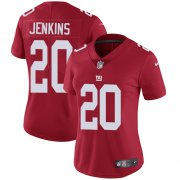 Wholesale Cheap Nike Giants #20 Janoris Jenkins Red Alternate Women's Stitched NFL Vapor Untouchable Limited Jersey