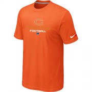 Wholesale Cheap Nike Chicago Bears Big & Tall Critical Victory NFL T-Shirt Orange