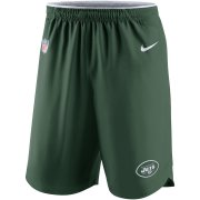 Wholesale Cheap New York Jets Nike Sideline Vapor Performance Shorts Green