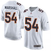 Wholesale Cheap Nike Broncos #54 Brandon Marshall White Men's Stitched NFL Game Event Jersey