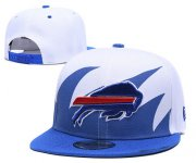 Wholesale Cheap Bills Team Logo White Adjustable Hat TX