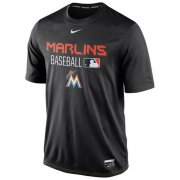 Wholesale Cheap Miami Marlins Nike Legend Team Issue Performance T-Shirt Black