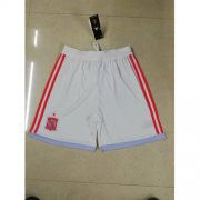 Wholesale Cheap Spain Blank Away Soccer Country Shorts