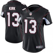 Wholesale Cheap Nike Cardinals #13 Christian Kirk Black Alternate Women's Stitched NFL Vapor Untouchable Limited Jersey