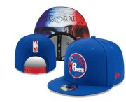 Wholesale Cheap Philadelphia 76ers Snapback Ajustable Cap Hat YD 1