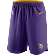 Wholesale Cheap Minnesota Vikings Nike Sideline Vapor Performance Shorts Purple