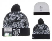 Wholesale Cheap Oakland Raiders Beanies YD018