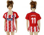 Wholesale Cheap Women's Atletico Madrid #11 Correa Home Soccer Club Jersey