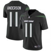 Wholesale Cheap Nike Jets #11 Robby Anderson Black Alternate Youth Stitched NFL Vapor Untouchable Limited Jersey