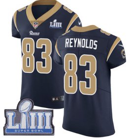 Wholesale Cheap Nike Rams #83 Josh Reynolds Navy Blue Team Color Super Bowl LIII Bound Men\'s Stitched NFL Vapor Untouchable Elite Jersey